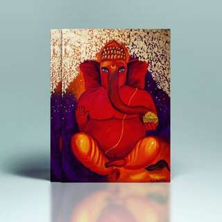 Ganesha canvas painting