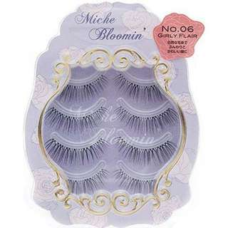 Miche Bloomin Eyelashes No. 6 Girly Flair