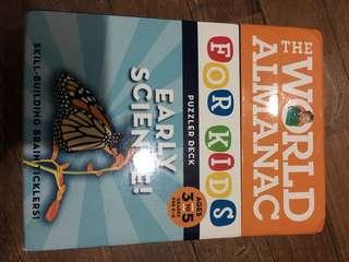 Pre-loved the world almanac for kids