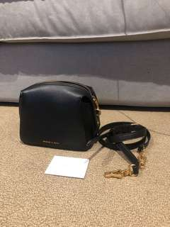 Charles & Keith crossbody bag authentic