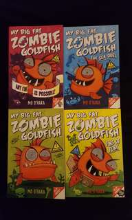 My Big Fat Zombie Goldfish by Mo O'hara(4 books) #MidYearSale