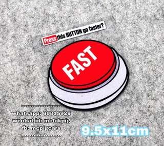 汽車反光貼 fast