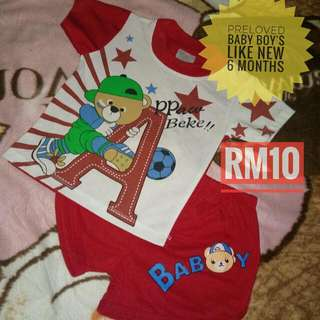 baju baby boy 6 months ke atas