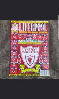 Liverpool Official Yearbook 1997/ 1998