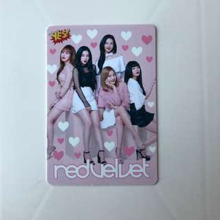 Red Velvet Yes! Card 第35期 夜光卡