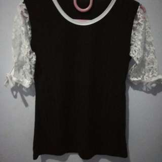 Brokat blouse