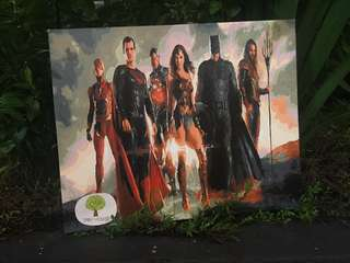 Hand Painted Justice League Painting