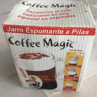 Coffee Magic Frothing Mug Made