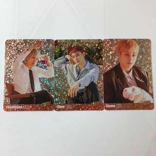 EXO Yes! Card 第35期 閃卡