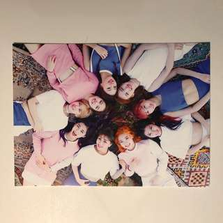Twice Coaster Lane 1 專輯 Post Card