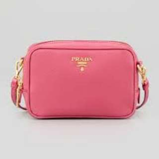 Prada mini bag saffiano 斜咩袋