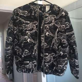 Quilt bomber jacket