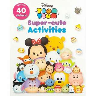 Tsum tsum Activity Book