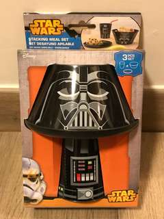 Starwars Darth Vader 星戰 黑武士 餐具套裝