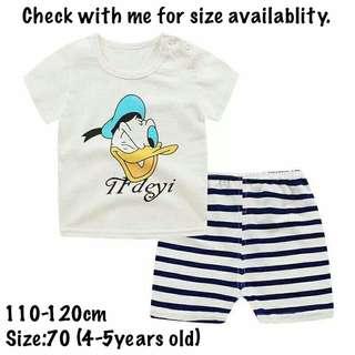 Baju Baby Boy T-Shirt Set