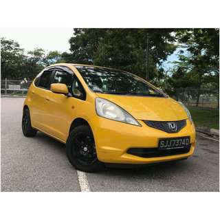 HONDA FIT GRAB/PERSONAL/PRIVATE HIRE CAR RENTAL