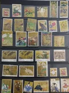 日本郵票(已蓋章)                                                   * 買2件以上減5蚊