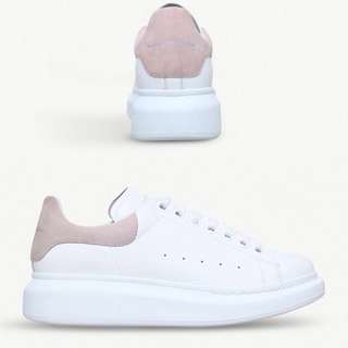 Alexander McQueen sneakers 淡粉紅色 淺粉紅色 休閒鞋 女裝 波鞋 MCQ shoes McQueen 淡粉尾 厚底鞋 現貨 #35 #37