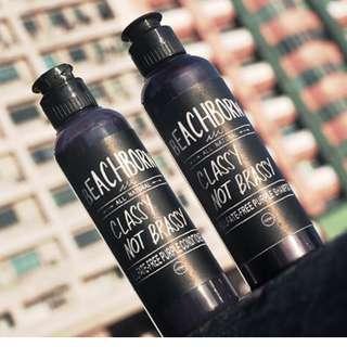 🚚 Beachborn Sulfate-Free All Natural Purple Shampoo 100ml