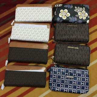 Michael Kors & Tommy Hilfiger Wallets! Check photo's!