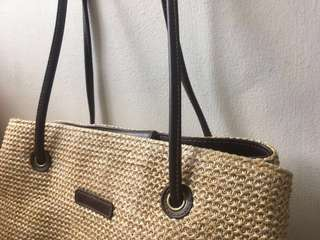 Vintage Rattan Bag