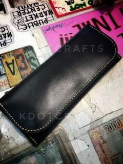 Leather Long Wallet Layered
