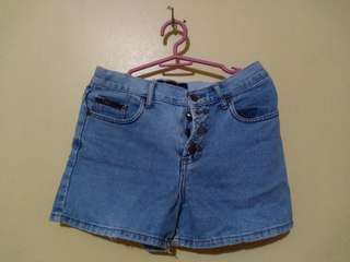 Midwaist Denim Shorts