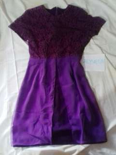 Dress kebaya Ungu