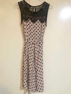 Dorothy Perkins Vintage Polka Dots Dress