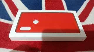 小米Mi MIX 2S 紅色 矽膠保護套 Silicone Case Red