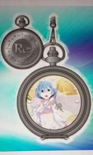 全新日本景品雷姆拉姆陀錶