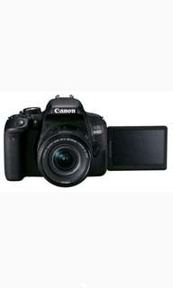 Canon EOS 800D WIFI 18-55 IS STM KIT Kamera DSLR Cicilan Ringan