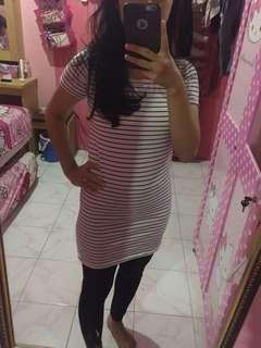 Dress stripe white