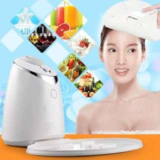 Face Mask Machine DIY Natural Fruit Vegetable Beauty Facial Mask Maker Antomatic Multifunction Mask Machine