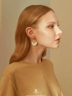 韓國制 Retro earrings 復古耳環 針織 ASOS Ted Baker Korea