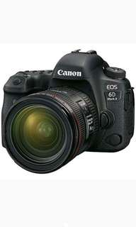 Canon EOS 6D Mark II DSLR With EF 24-70 F4 L Kredit Mudah