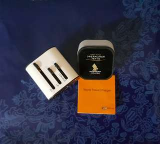 BNIB Singapore Airlines Dreamliner 787-10 World Travel Charger