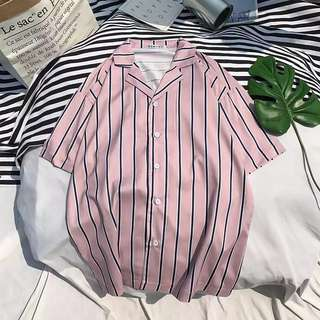 Last piece offer! Topman inspired stripe v neck shirt