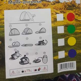 Brandnew outdoor pop up tent