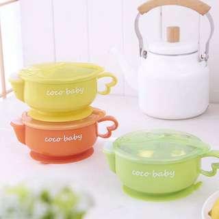 🚚 寶寶專用碗✨現貨‼️副食品必備,實用不鏽鋼304寶寶碗