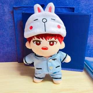 [20cm娃衣 exo bts wanna one公仔] 淨 小兔眼罩 不包其餘