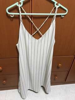 Thetinselrack dress in white (brandnew)