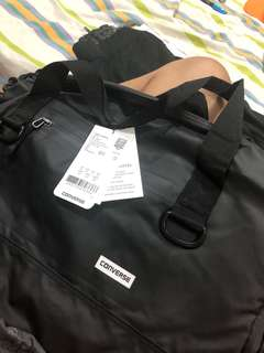 Converse rubber duffle bag