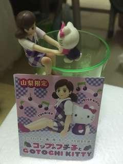 日本山梨限定 Hello Kitty X 杯緣子$40包郵