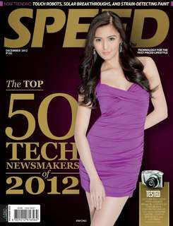 Speed magazine Kim Chiu