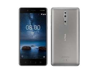 Nokia 8 Silver Black (7 Months Warranty)