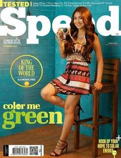 Speed magazine Nadine Lustre