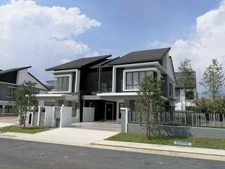 Double Storey Terrace House