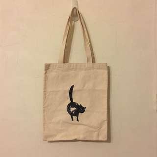 Pinkoi購入 貓咪 帆布袋 帆布包