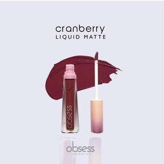 Cranberry Matte Lippie